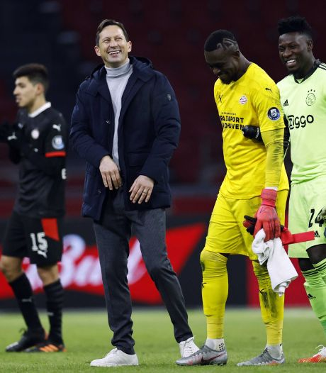 Schmidt laat zijn humeur niet bederven door verdwenen voorsprong tegen Ajax