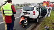 Twee uur wachten om te takelen na banaal ongeval met LPG-wagen