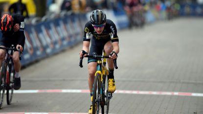 Yentl Bekaert sluit DVV-trofee als derde af
