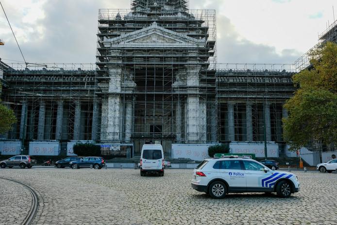 Brussels justitiepaleis, waar de twee bij verstek berecht worden