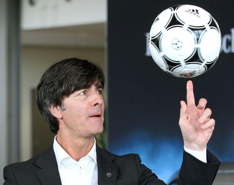 De Duitse bondscoach Joachim Löw. Beeld ap