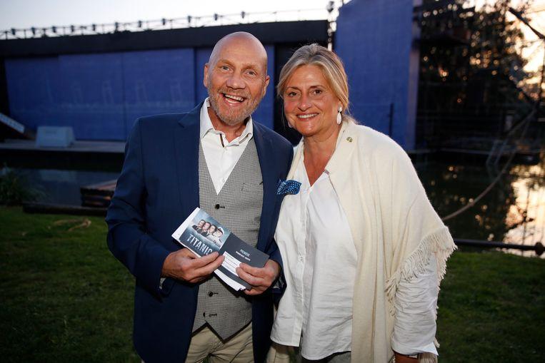 Jean Pierre Maeren kwam vergezeld van partner Viviane.