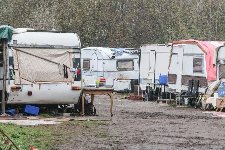 Het Romakamp aan de Hurstweg