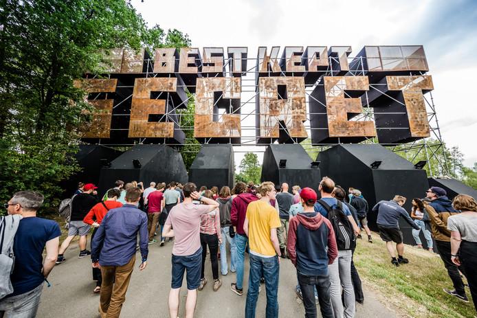 Ingang van Best Kept Secret Festival