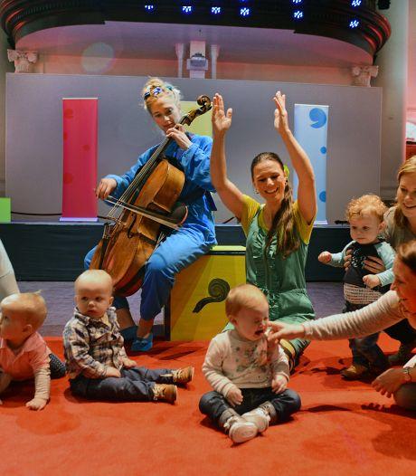 Cultuurpower pakt de draad weer op en verzorgt muziek voor baby's en peuters