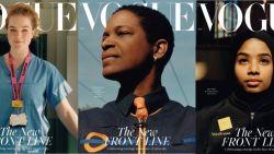 Vogue zet voor het eerst alledaagse helden op de cover