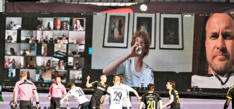Duizenden Deense fans via Zoom 'aanwezig' bij competitiewedstrijd