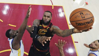 LeBron James licht optie in contract bij Cleveland Cavaliers niet