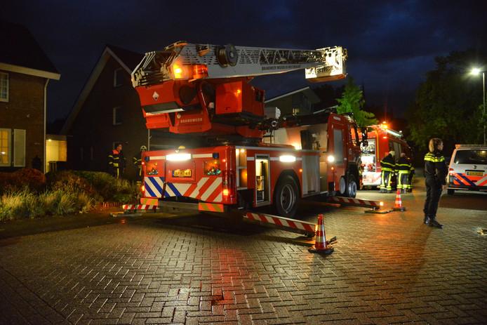 Schoorsteenbrand Etten-Leur.