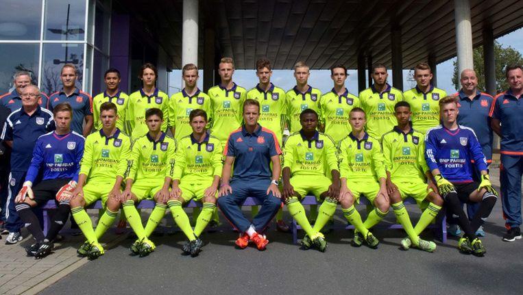 De min 19 van Anderlecht.