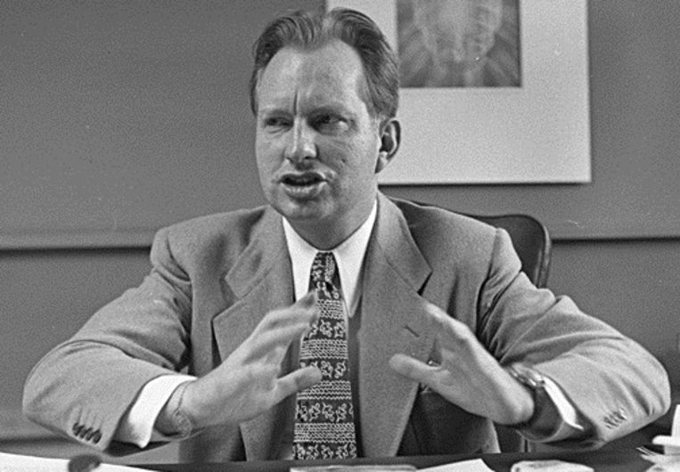 L. Ron Hubbard in 1950. Beeld Archief LA Times
