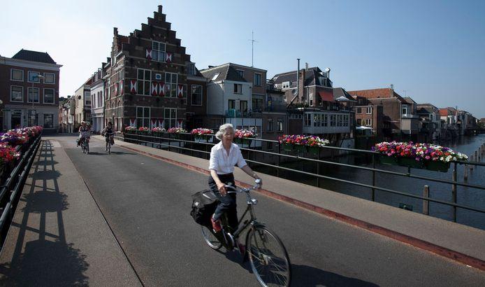 De Peterbrug in Gorinchem, waar straks zomaar ineens meer monumenten kunnen komen te staan.