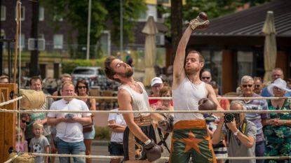 Stadsfestival Isotopia in een circusjasje
