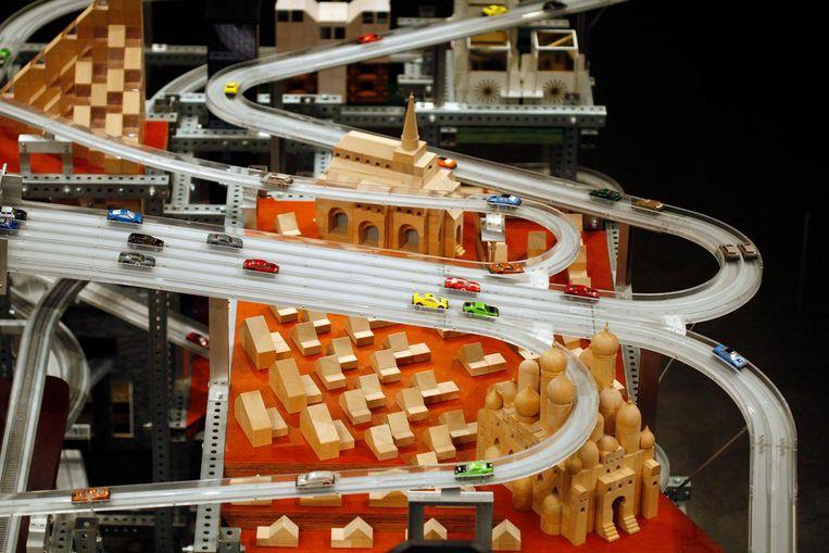 Kinetische sculptuur: Metropolis II (2011, Chris Burden). Beeld reuters