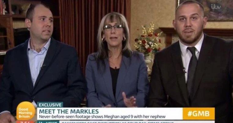 De schoonfamilie van Meghan Markle is gearriveerd in Londen.
