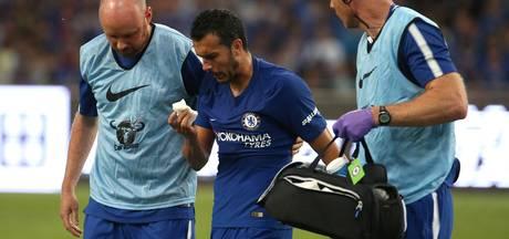 Pedro verlaat met hersenschudding trainingskamp Chelsea