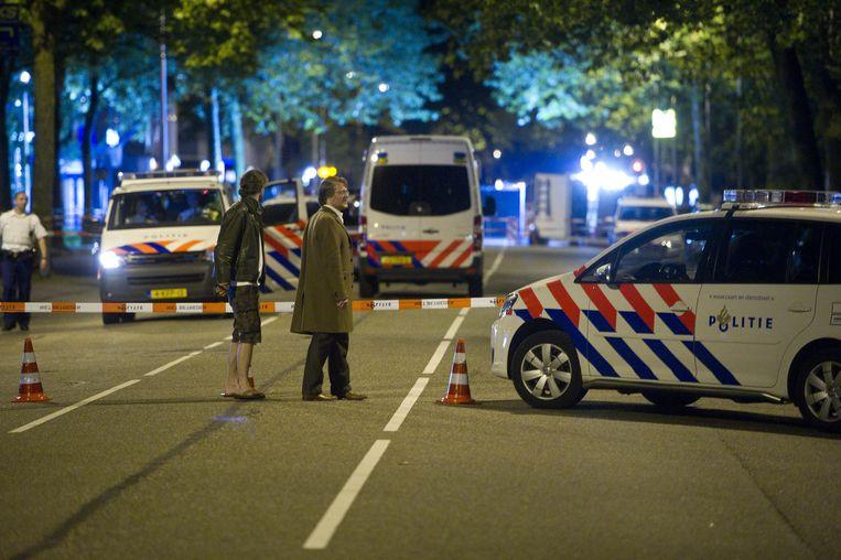Politieonderzoek op het plaats delict in Amstelveen Beeld anp
