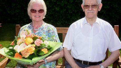 Marcel en Simone zestig jaar getrouwd