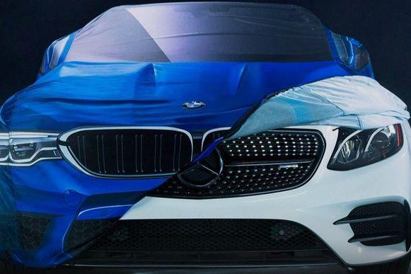 Mercedes-Benz verkleed als BMW