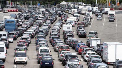 Ellenlange files verwacht op Europese wegen komend weekend