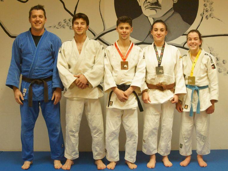 6c7268c72 Judoka's uit Hamme behalen medailles op Belgisch kampioenschap ...