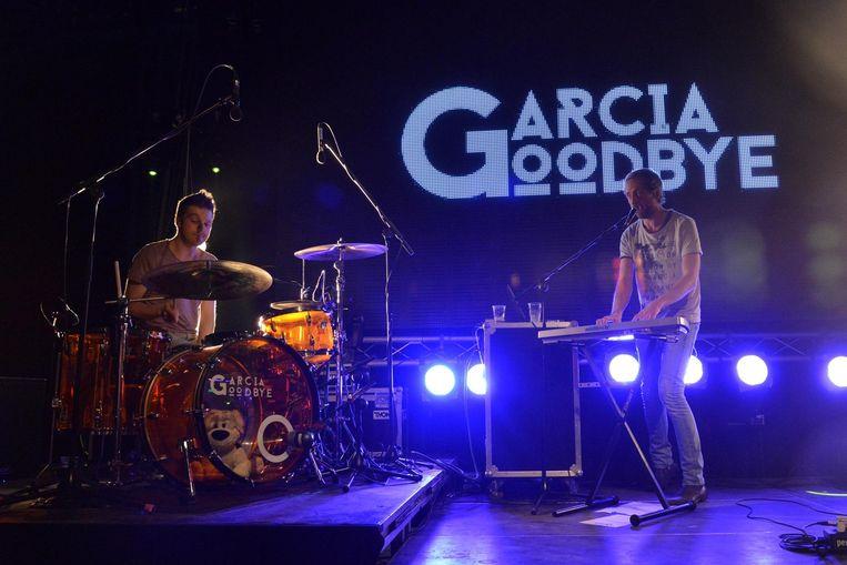 Garcia Goodbye op het podium in De Kruitfabriek.