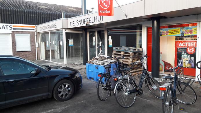 Naast het Kruidvat in Nistelrode strijkt Biedronka neer op de plek van De Snuffelhut.