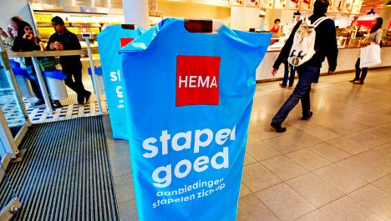 De prijs van de HEMA voor een overname kan een struikelblok worden, menen marktkenners. © anp Beeld