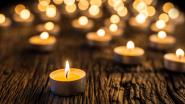 Wereldlichtjesdag in tuin muziekacademie om overleden kinderen te herdenken