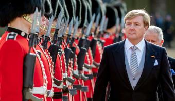 Koning Willem-Alexander spreekt verdriet uit over Brexit