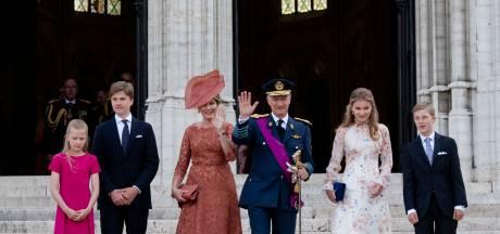 La famille royale au complet et Charles Michel assistent au traditionnel Te Deum