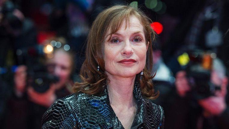 De Franse actrice Isabelle Huppert Beeld afp