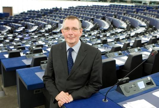 Europarlementslid namens Nederland, Dennis de Jong van de SP.
