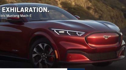 Gelekt: Ford's elektrische Mustang-EV