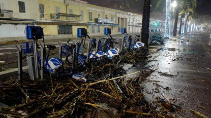 Code oranje voor stormweer in zuidoosten Frankrijk, luchthaven van Ajaccio dicht