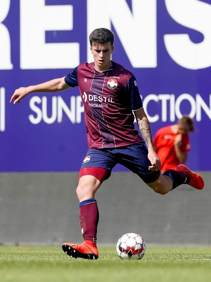 Willem II-verdediger Joao Queiros.