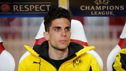 Marc Bartra opnieuw op trainingsveld bij Dortmund