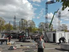 Hartje Breda: Oranje boapluisjes op het Chasséveld