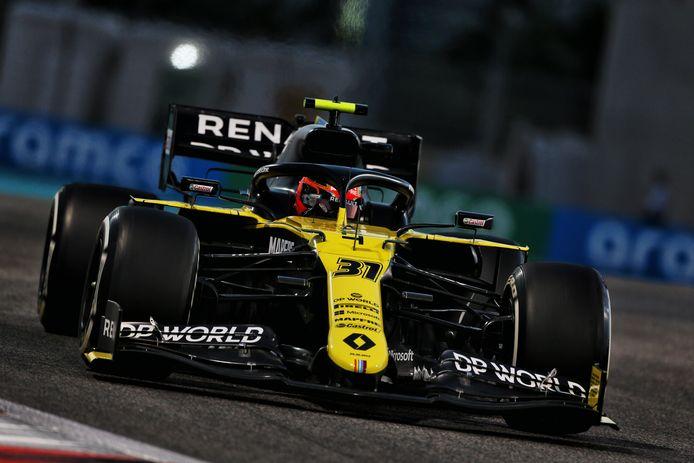 Zo zagen de auto's van Renault er vorig seizoen nog uit.