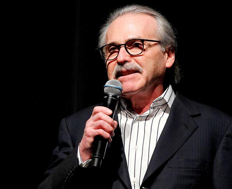 David Pecker, directeur van mediabedrijf American Media Inc. Beeld AP