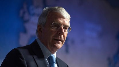 Britse Conservatieve ex-premier Major roept kiezers op tegen brexit van Boris Johnson te stemmen