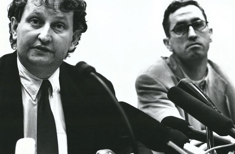 Van der Laan in 1993 Beeld Rebekka Engelhart