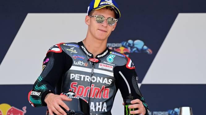Quartararo verovert eerste Franse MotoGP-zege sinds 1999, wereldkampioen Marquez loopt bij stevige crash breuk op in arm