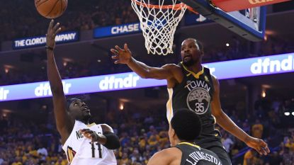 NBA: Golden State en Cleveland boeken zege in play-offs