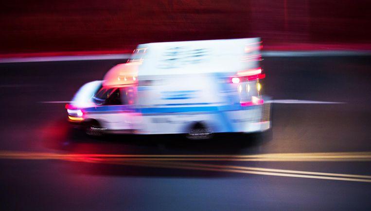 Een ambulance. Foto ter illustratie.