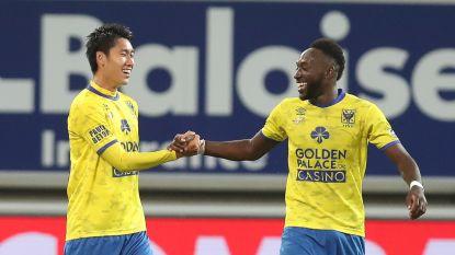 VIDEO. AA Gent laat zich op eigen veld verrassen door STVV, Japanse invaller  matchwinnaar met héérlijke goal