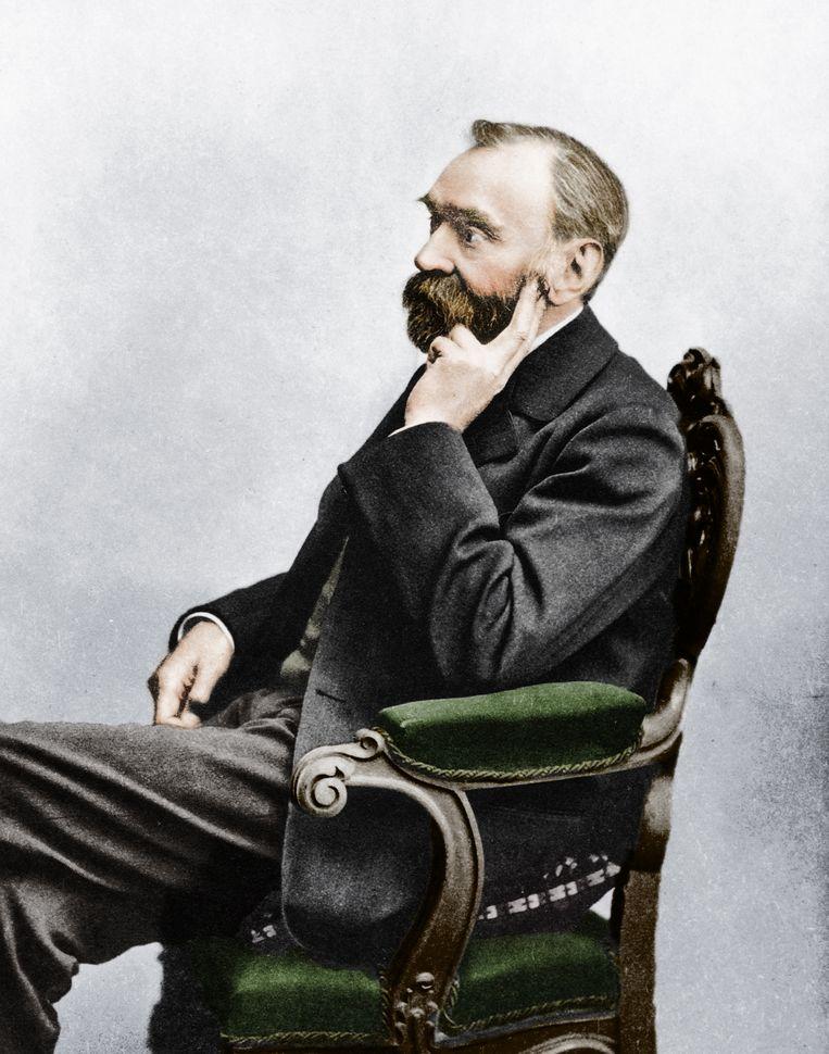 Alfred Bernhard Nobel. Beeld Getty Images