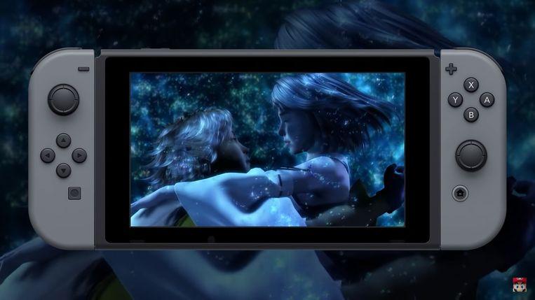 Final Fantasy X op de Nintendo Switch.