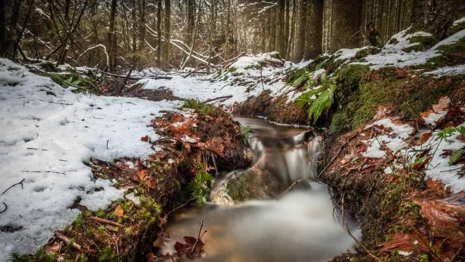 Koud weekeinde met smeltende sneeuw en ijsplekken, eind volgende week warmer
