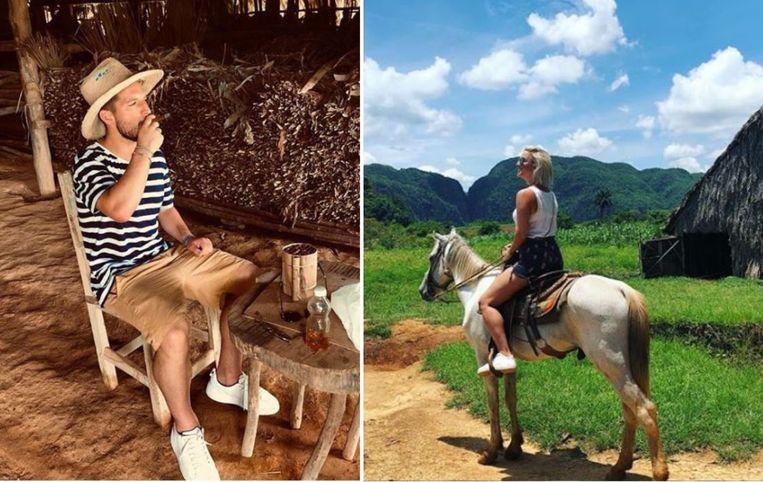 Dries Mertens en Kat Kerkhofs trokken op vakantie naar Cuba.